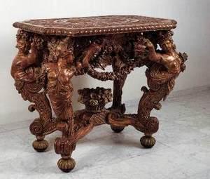 использование коньяка для обновления старинной мебели