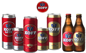 финское пиво koff